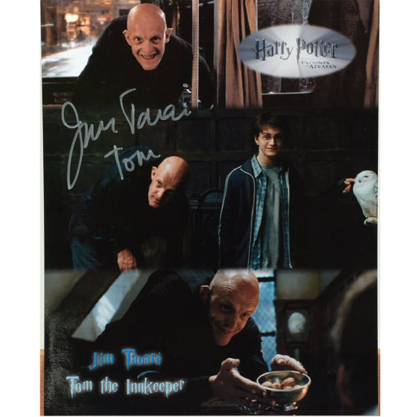 Jim Tavare as Tom the Innkeeper colour photo Personally Signed