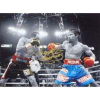 Manny Pacquaio Framed Action Photo Personally Signed