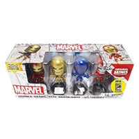 Marvel Iron Man Hall of Fame Armor Bobbleheads