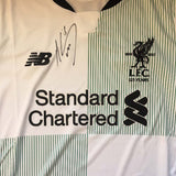 Mohammad Salah -  Personally Signed Liverpool FC Shirt