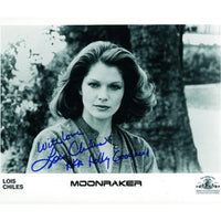 Lois Chiles Mounted Photo Personally Signed