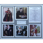 Earl Mountbatten Framed Photo Display Presentation with Personal Signature