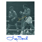 Muhammad Ali & Leon Spinks Signature