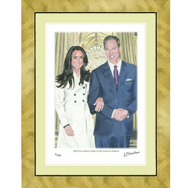 Royal Wedding Framed & Mounted Print Personally Signed