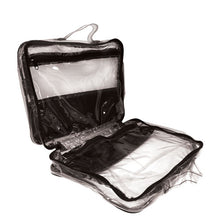 Rucci Professional® Studio Transparent Cosmetic Purse