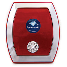 Red Square Swarovski Compact Mirror