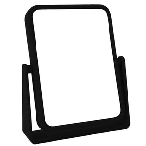 Rectangular Soft-Touch Vanity Mirror, 7x/1X Magnification