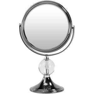 Medium Gun Metal Vanity Mirror