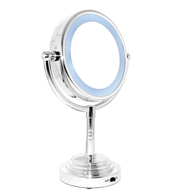 L.E.D.-Lighted Vanity Mirror