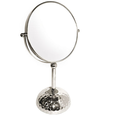 Classic Moon Deco Base Chrome Mirror, 7X/1X Magnification