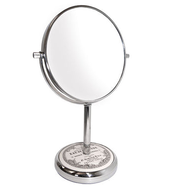 Classic Chrome Vanity Mirror, 7X/1X Magnification