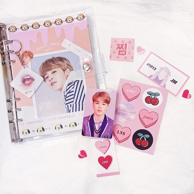 RAINBOW BRAND Notebook Cover +FREE 30 Photocard Set