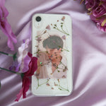 RAINBOW BRAND Vintage Pressed Flower Phone Case