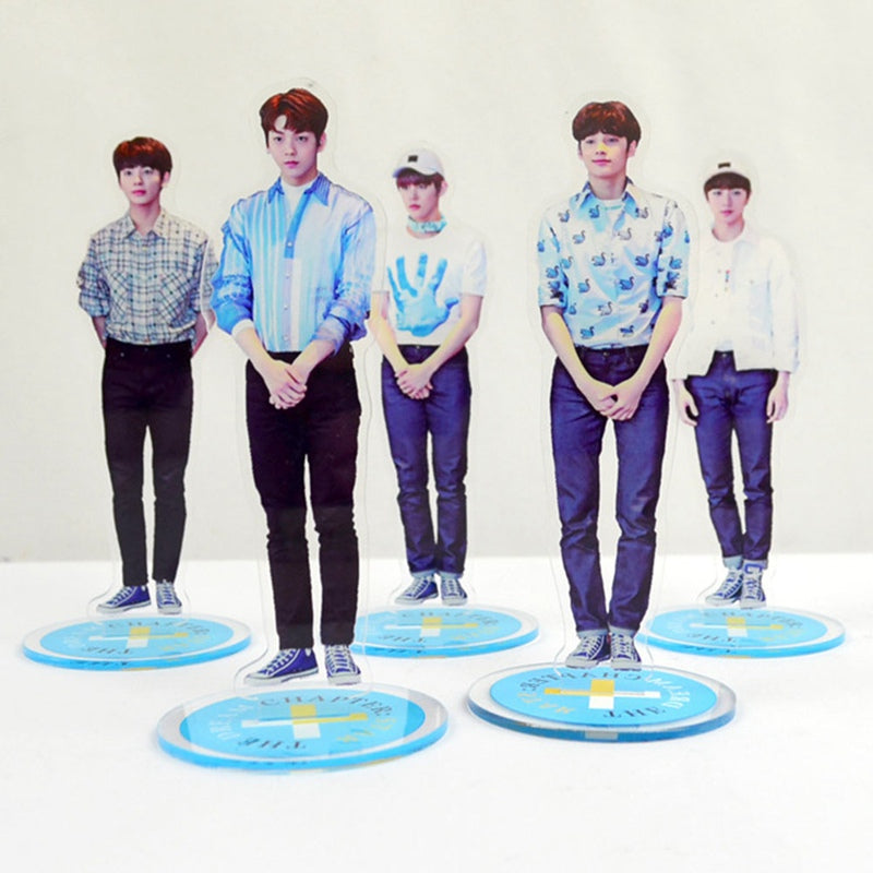 1Pc TXT Acrylic Stand TOMORROW X TOGETHER Figure Stand Collection Gift Stationery Set Fans Collective Gifts