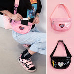 RAINBOW BRAND Pink Motel Fanny Pack