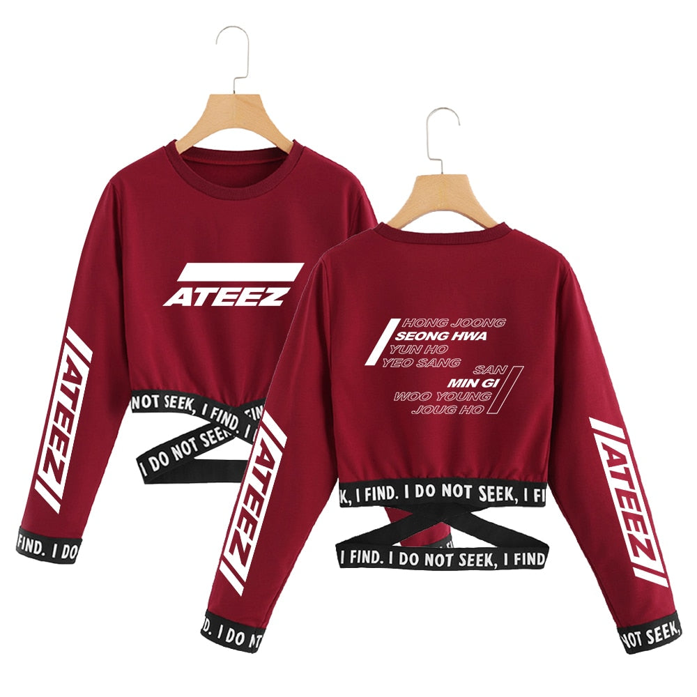 "ATEEZ ""I Do Not Seek"" Crop Top"