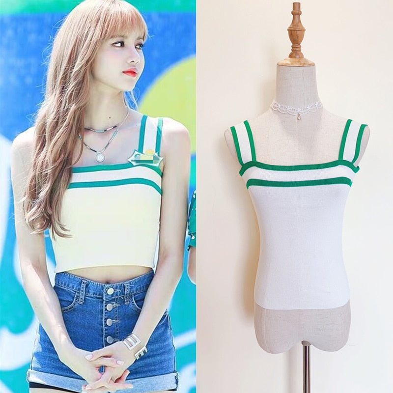 BLACKPINK Lisa Sprite Promo Top