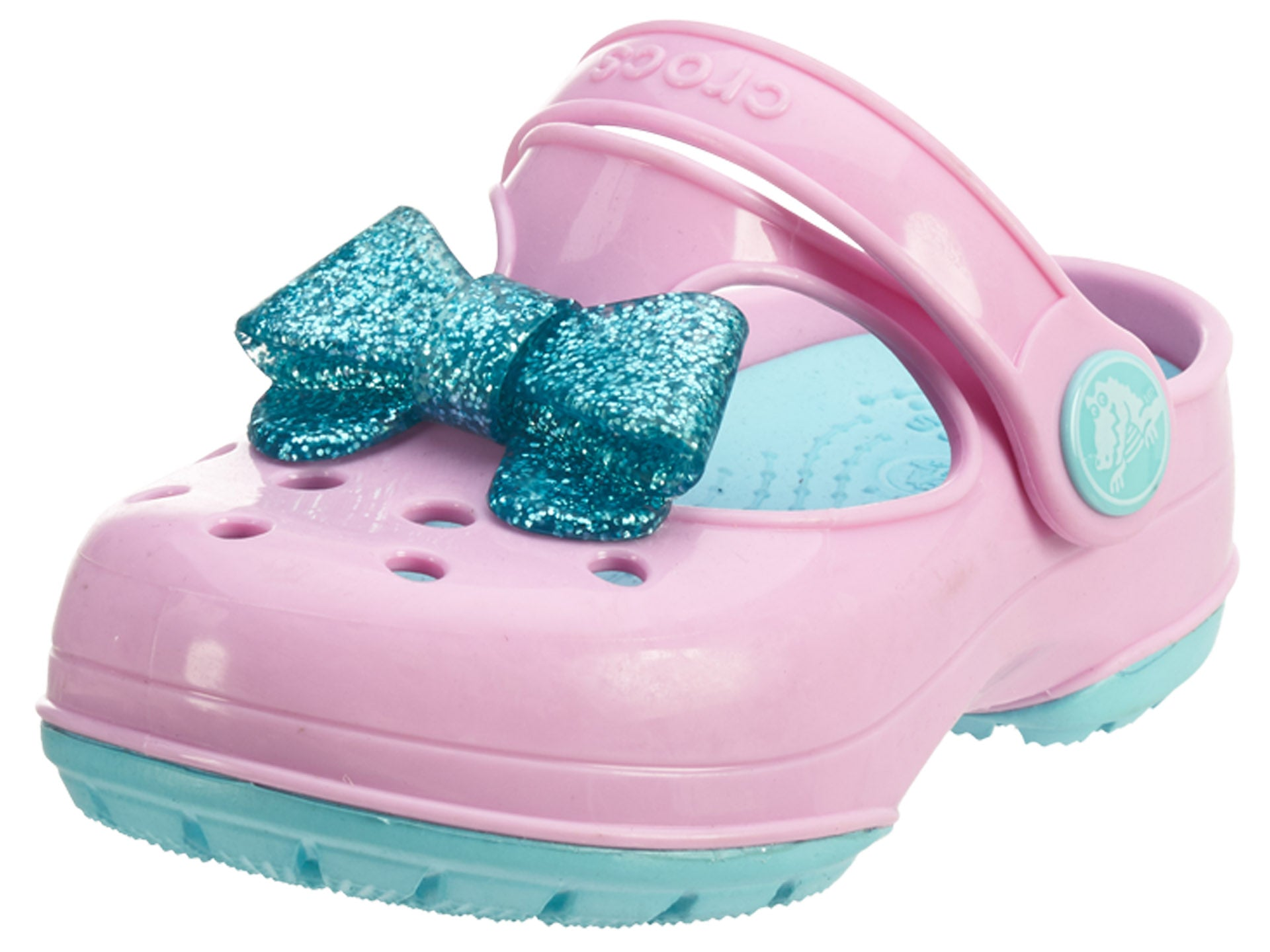 2d3a53c4407a32 Crocs Carlie Gltter Bow Mj Ps Toddlers Style   203452 – talkmoney730