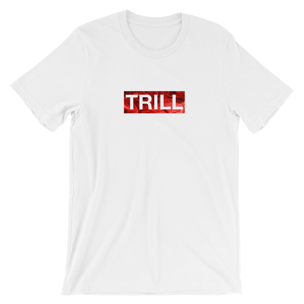 "TRILL ""Box Logo Bloody"" Unisex Short Sleeve T-Shirt"