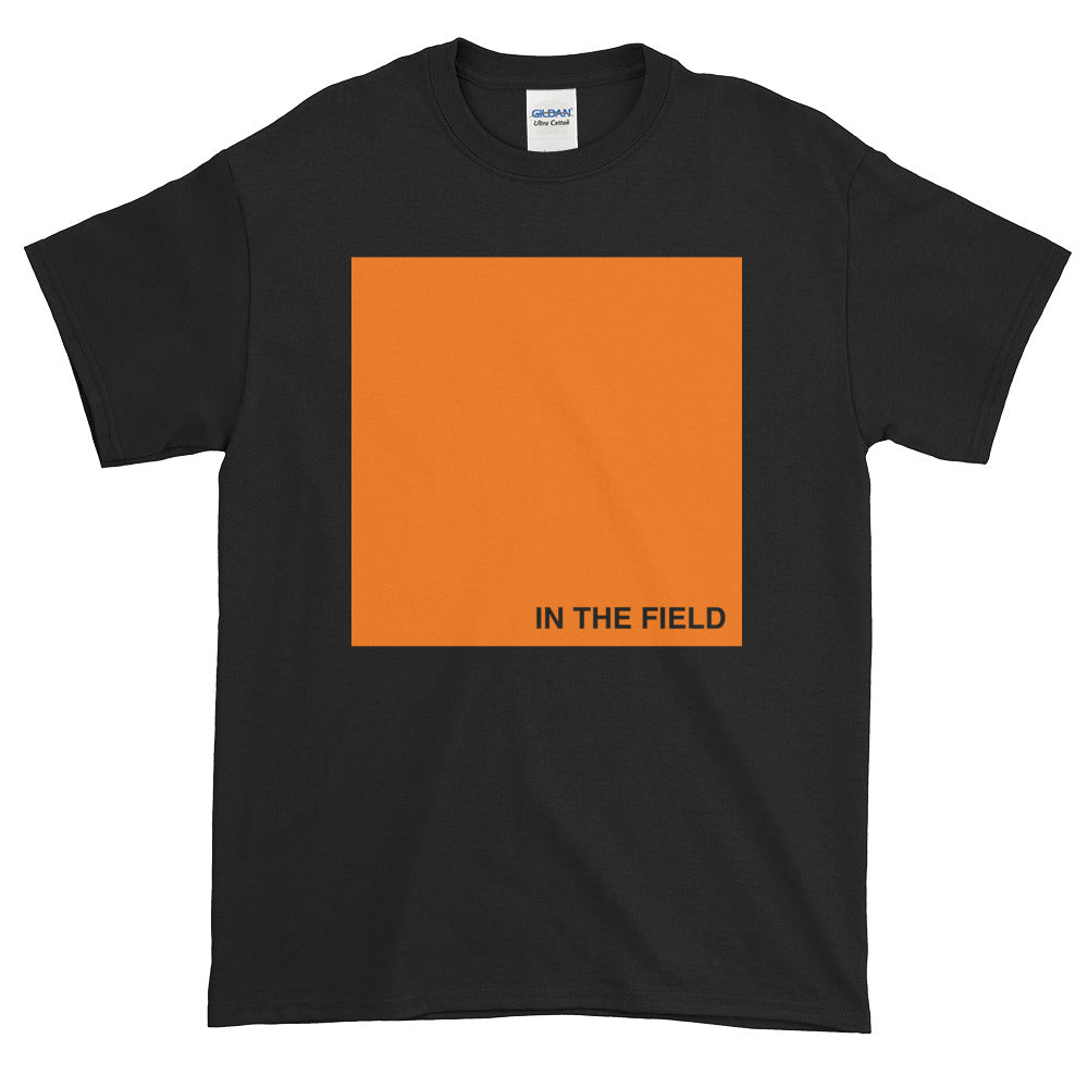 In The Field 'Block' Short-Sleeve T-Shirt Black/Orange