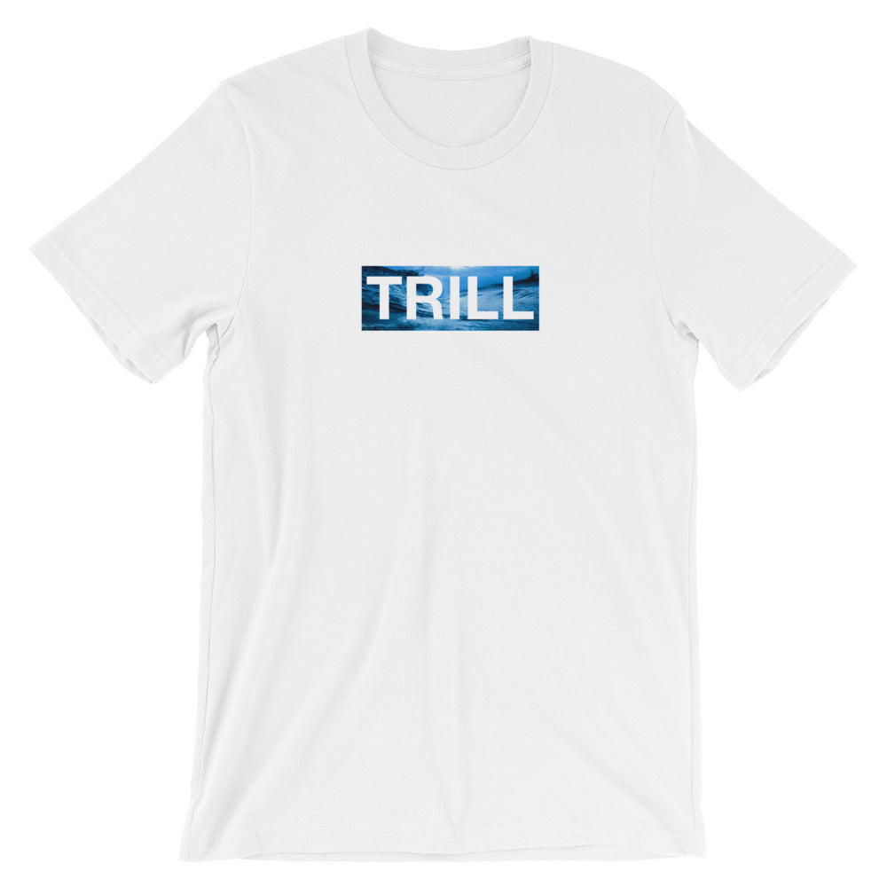 "TRILL ""Box Logo Wavy"" Unisex Short Sleeve T-Shirt"