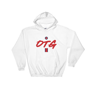 OTG Classic Hoodie White/Red/Navy-Blue
