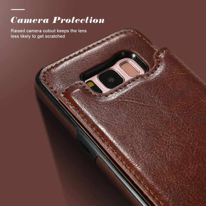 huge selection of 3fbdd 08e8d 4 in 1 Luxury Leather Case For Samsung Phones