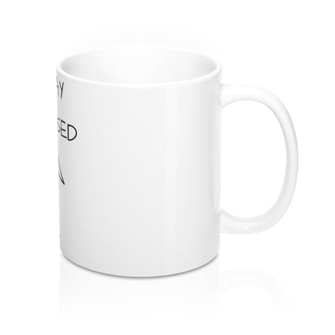 STAY FOCUSED 11 OZ MUG