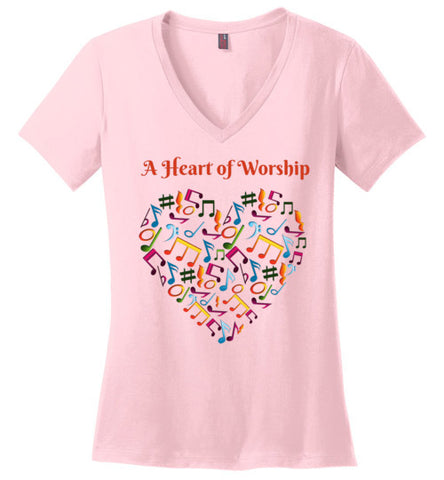 A Heart for Worship Women's T