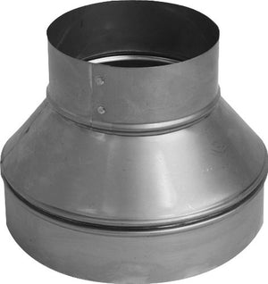 Speedi Products SM RDP 75 Galvanized Reducer