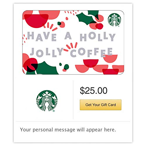 Starbucks Holly Jolly Card Delivery