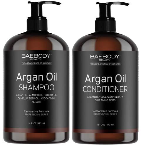 Moroccan Argan Oil Shampoo Conditioner