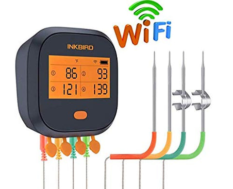 Inkbird Thermometer Rechargeable Wireless Calibration