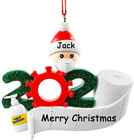 Personalized Christmas Ornaments Souvenir Decorations