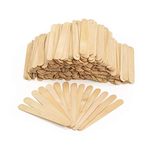 Natural Wood Craft Stix Pieces