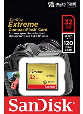 SanDisk Extreme CompactFlash Memory 120MB