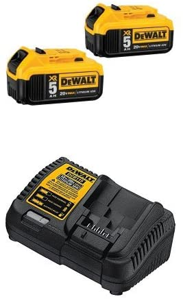 DEWALT DCB205 2 Lithium Battery Charger
