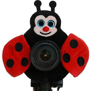 Camera Creatures Lovable Ladybug Posing
