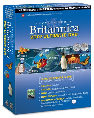 Encyclopedia Britannica Ultimate Reference DVD Rom