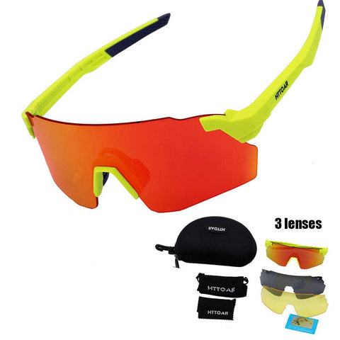 HTTOAR Sunglasses Polarized Interchangeable Running%EF%BC%8CDriving