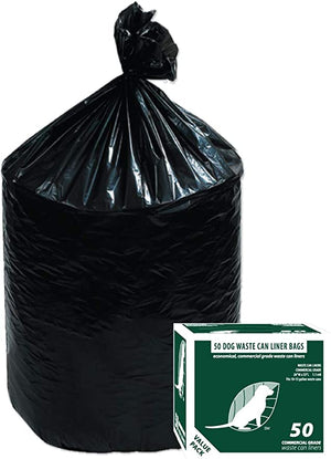 Dog Waste Can Liners D002 50