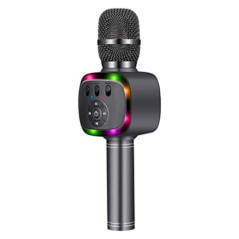 BONAOK Bluetooth Wireless Microphone Party(Space