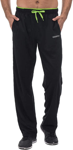CENFOR Sweatpants Pockets Workout Training