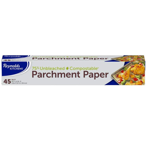 Kitchens Unbleached Parchment Paper Square