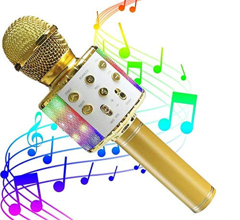 ZMLM Wireless Bluetooth Karaoke Microphone