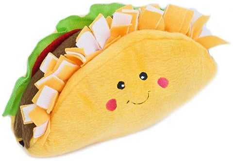 ZippyPaws NomNomz Plush Squeaker Foodie