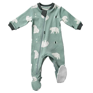 ZippyJamz Organic Sleeper Pajamas Quicker