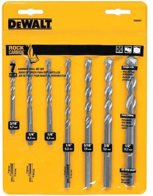 DEWALT DW5207 7 Piece Premium Percussion