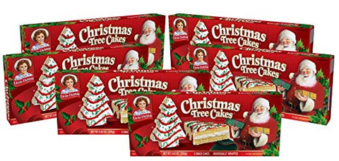 Little Debbie Christmas Vanilla Individually