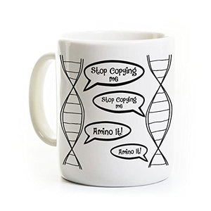 DNA Biology Coffee Mug Copying